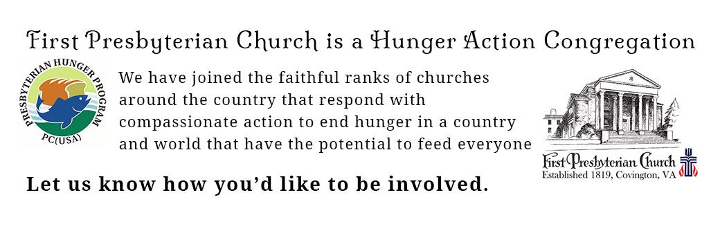 Hunger Action in Covington VA